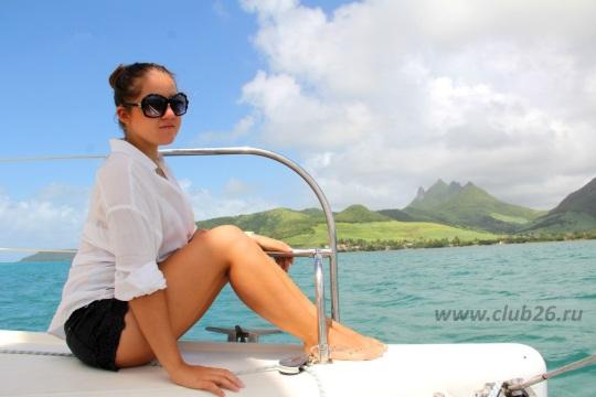 Маврикий прогулка на яхте