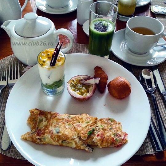 Вот такой завтрак