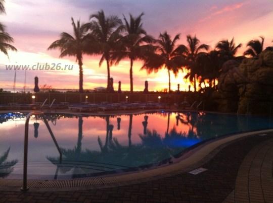 Закаты во Флориде