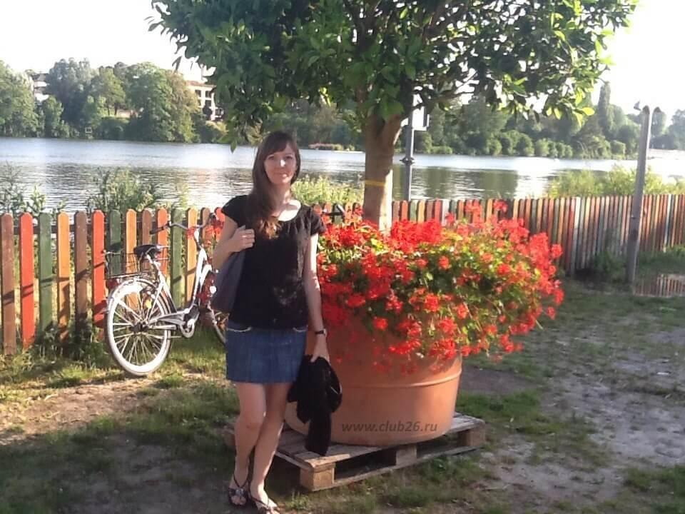 Ольга в Хейдельберге