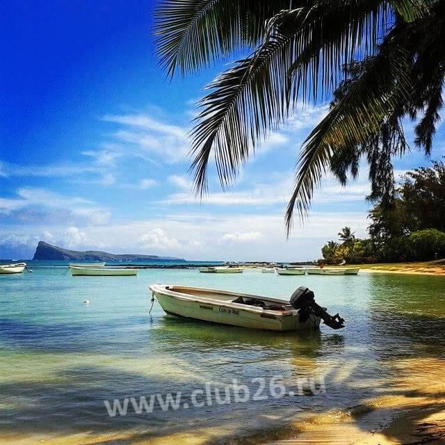 Маврикий вид на гору