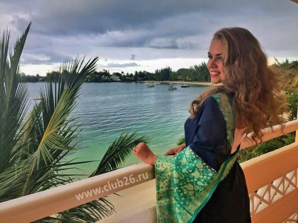 Маврикий Вид из номера гостиницы