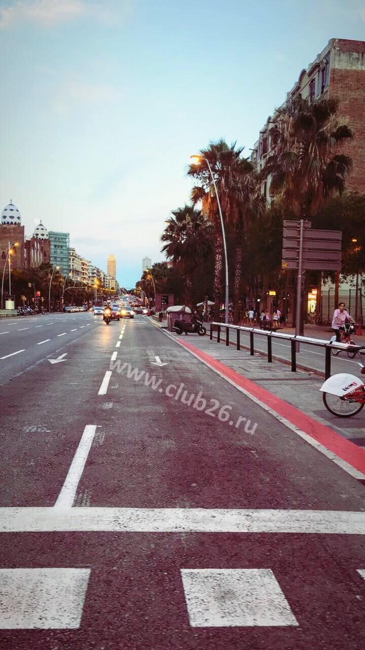 Знаменитые проспекты Барселоны