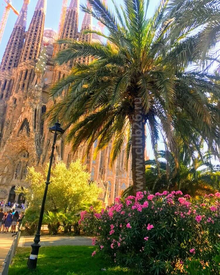 Парк возле Храма Святого Семейства